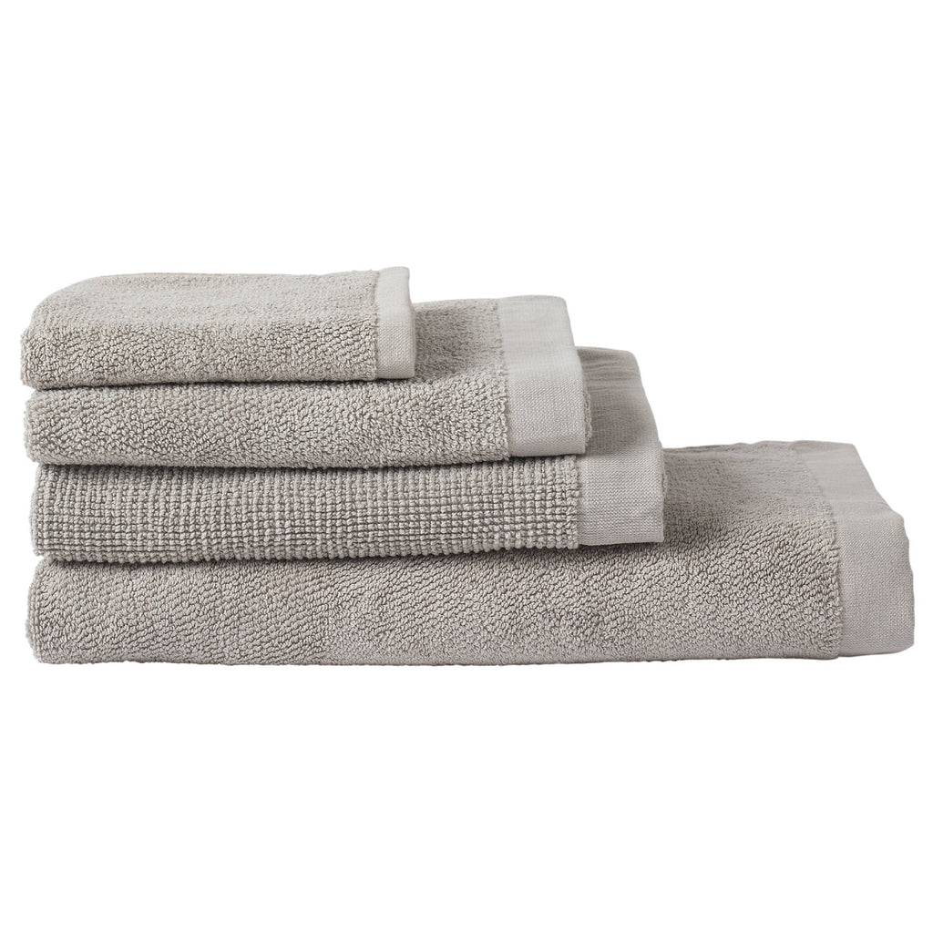 Peluche Face Cloth Smoke set of 2 Towel
