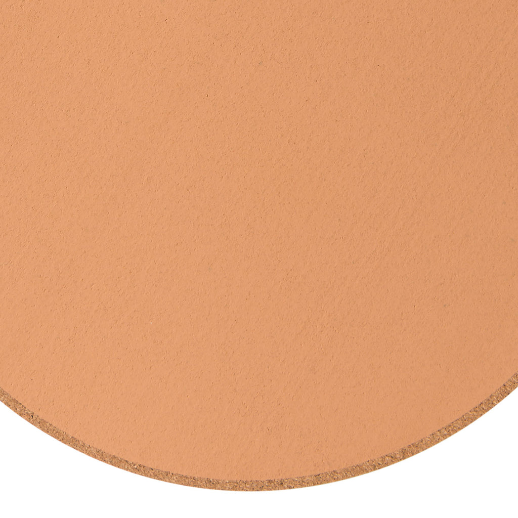 Monroe Round Cork Placemat Nude