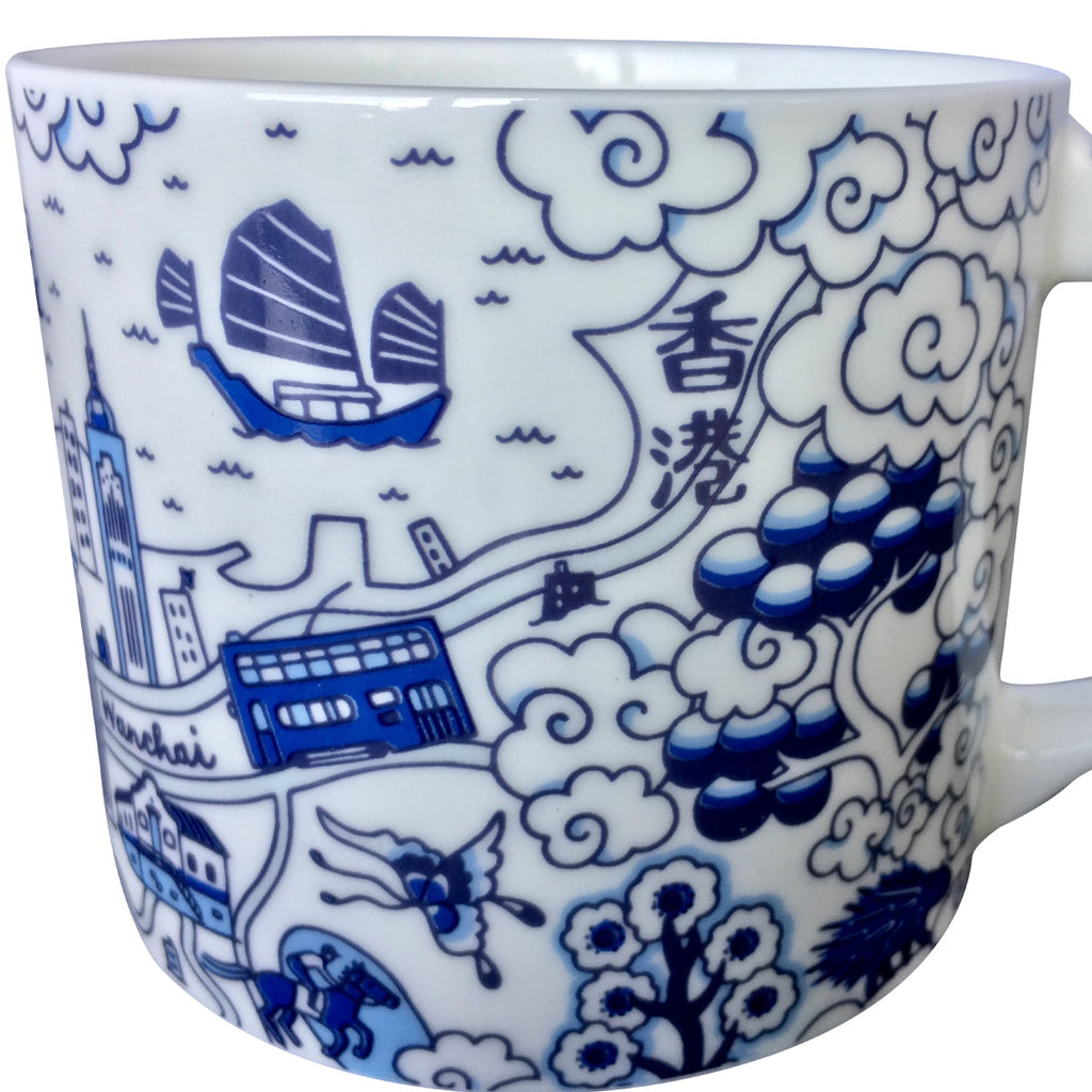 Willow Series HK Mug Blue