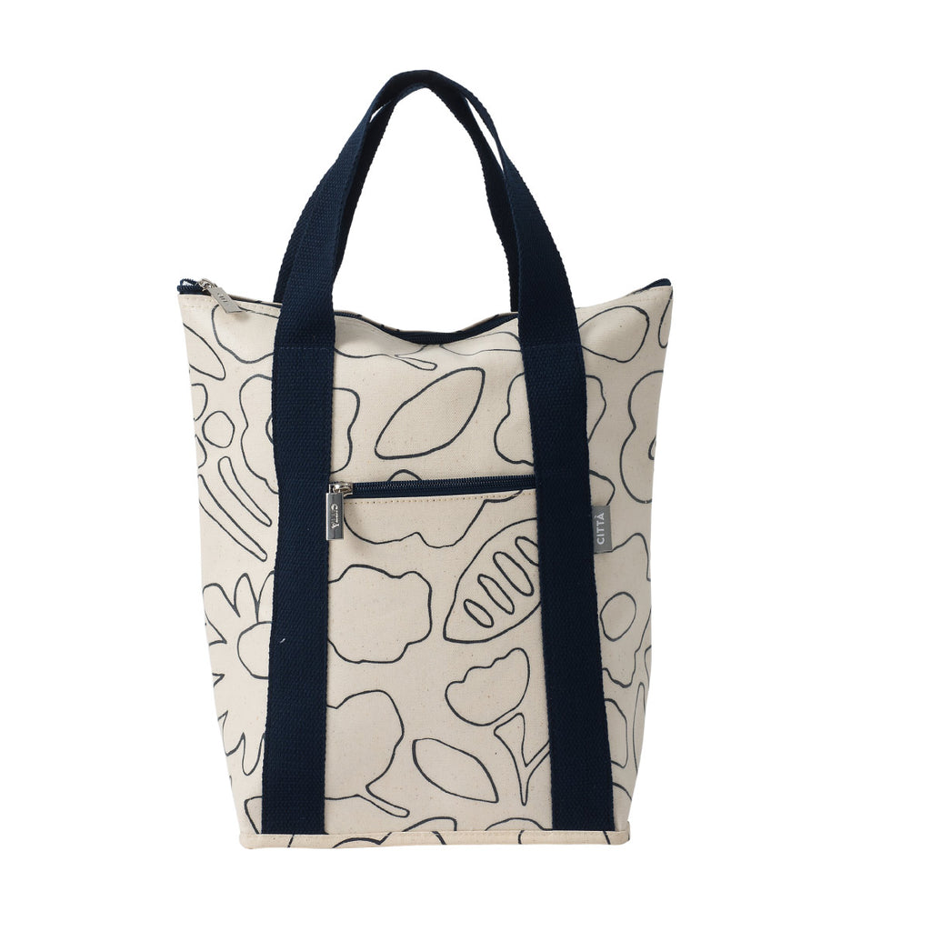 Daisy Chain Wine Cooler Navy/Natural - Citta Design, INSIDE Hong Kong