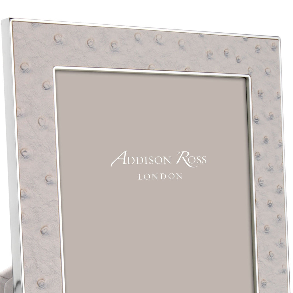 Addison Ross Ostrich Mist & Silver - Addison Ross, INSIDE Hong Kong