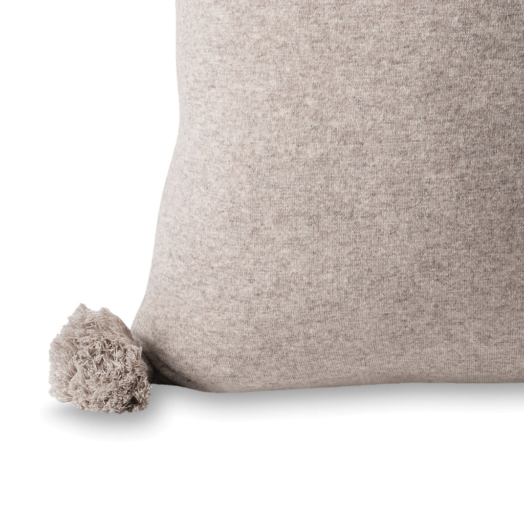 Marl Knitted Wool Blend Scoria Cushion - Citta Design, INSIDE Hong Kong