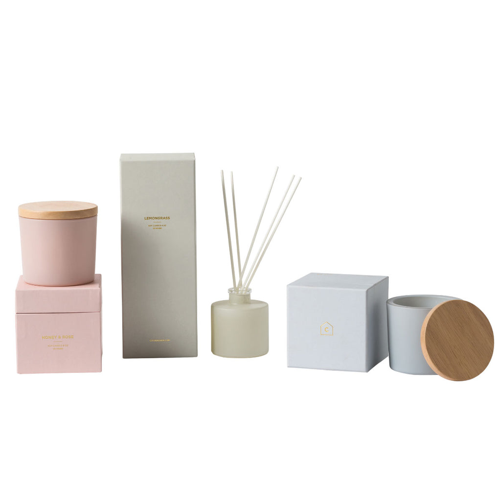 Honey & Rose Fragrance Diffuser Nude