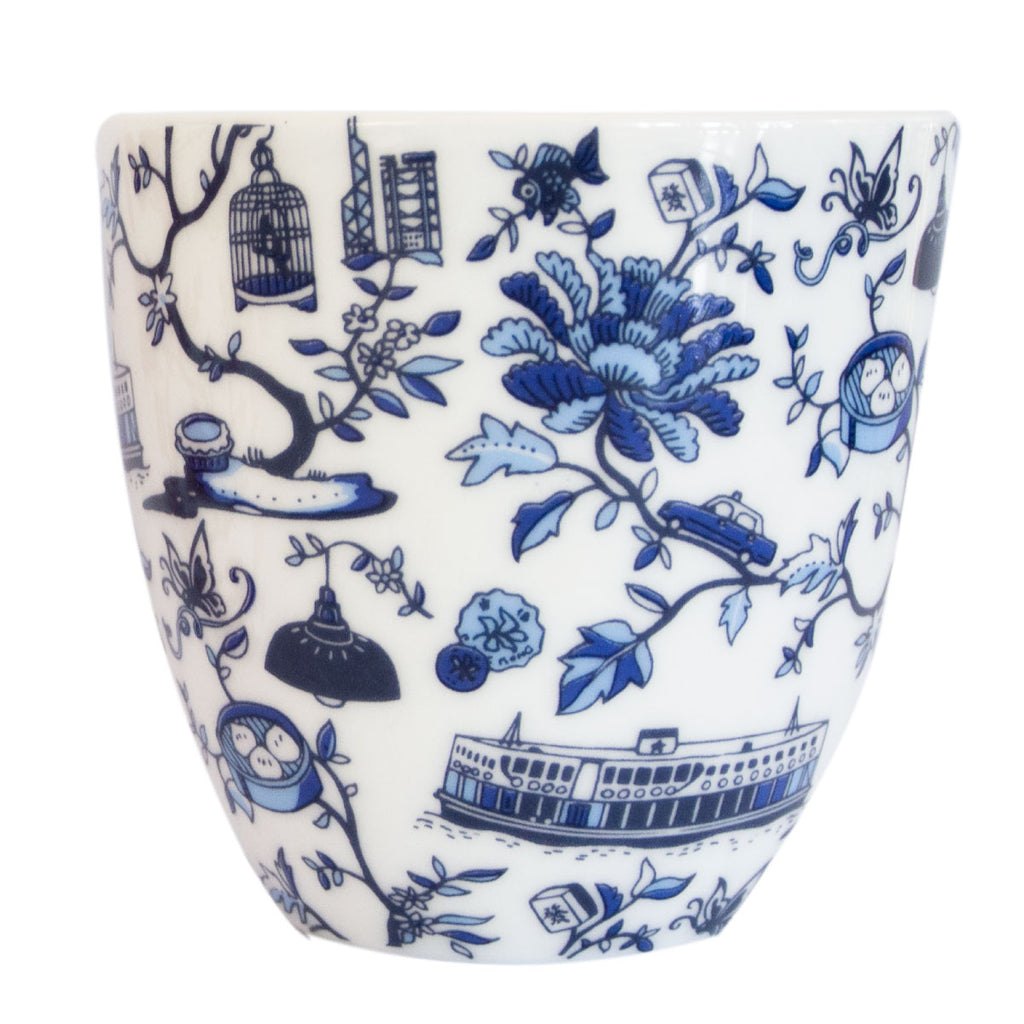 Hong Kong Toile Series chinese Cup S/2
