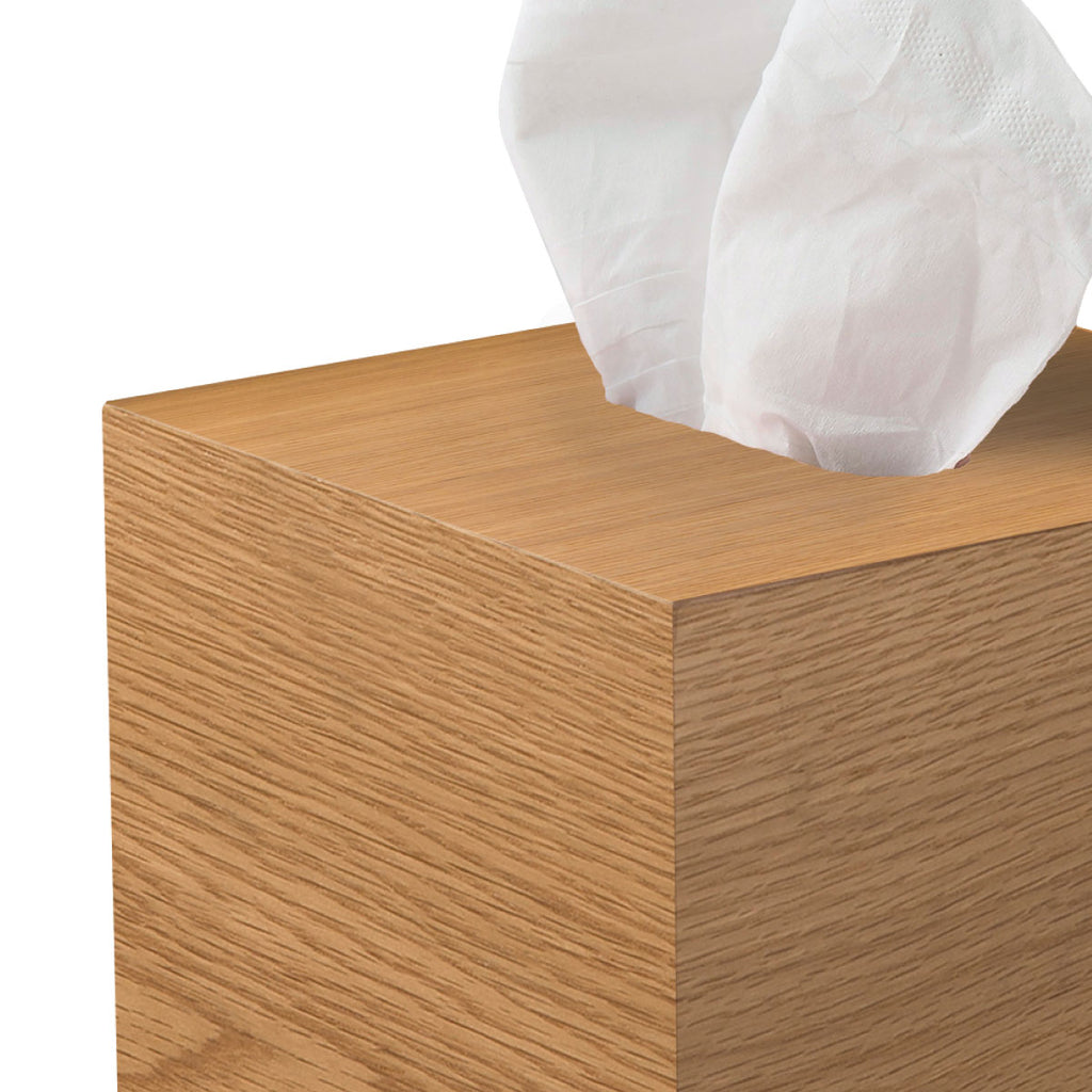 Square Tissue Box in Natural - Citta Design, INSIDE Hong Kong