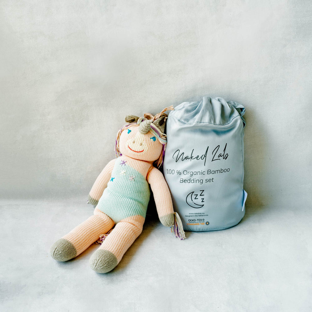 Naked Lab Kid's Bedding Set - Turquoise - Naked Lab, INSIDE Hong Kong