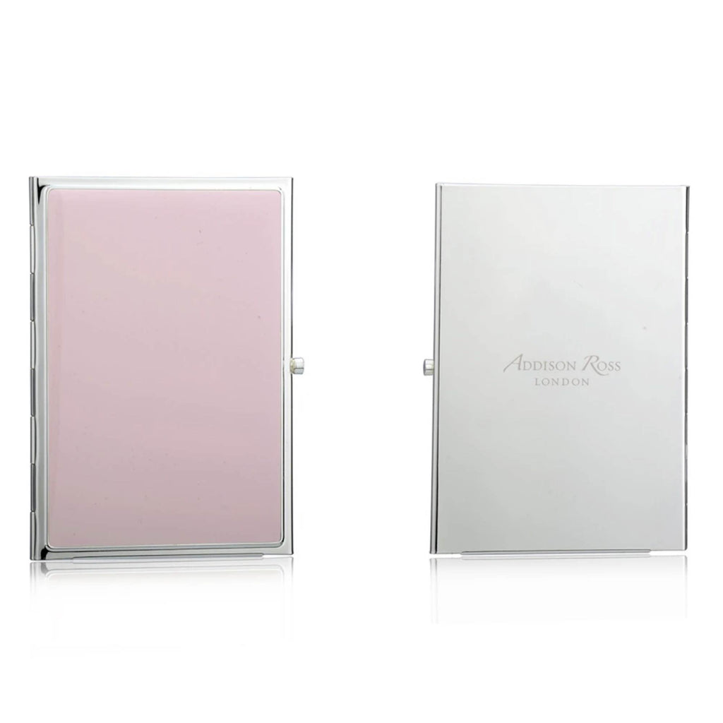 Addison Ross Travel Double Frame Silver plated - Pink