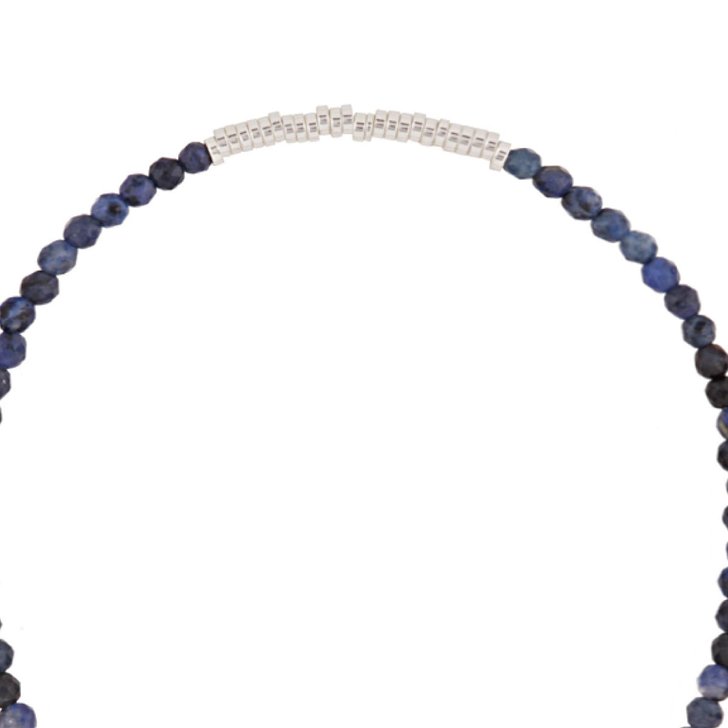 Luv & Bart Louisa Bracelet Navy/Silver - Luv & Bart, INSIDE Hong Kong