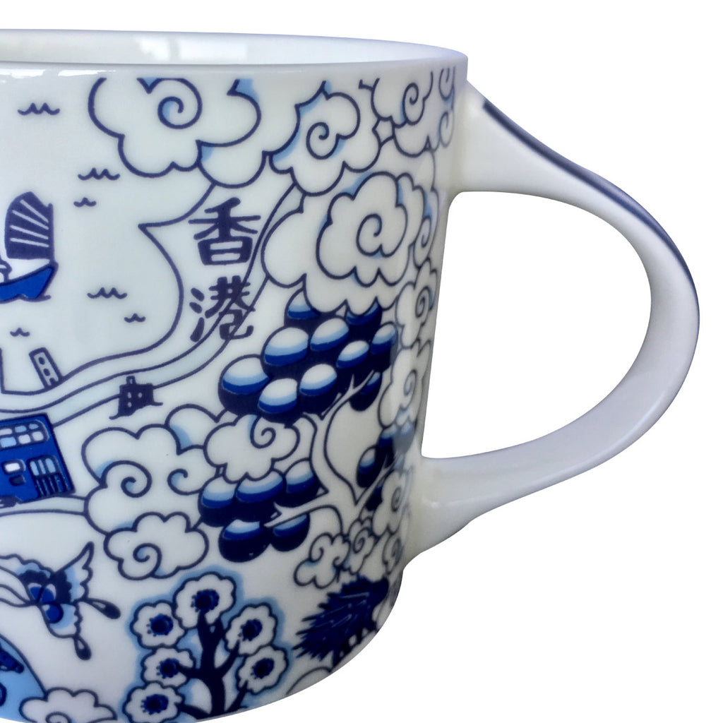 Faux Willow Series HK Mug Blue