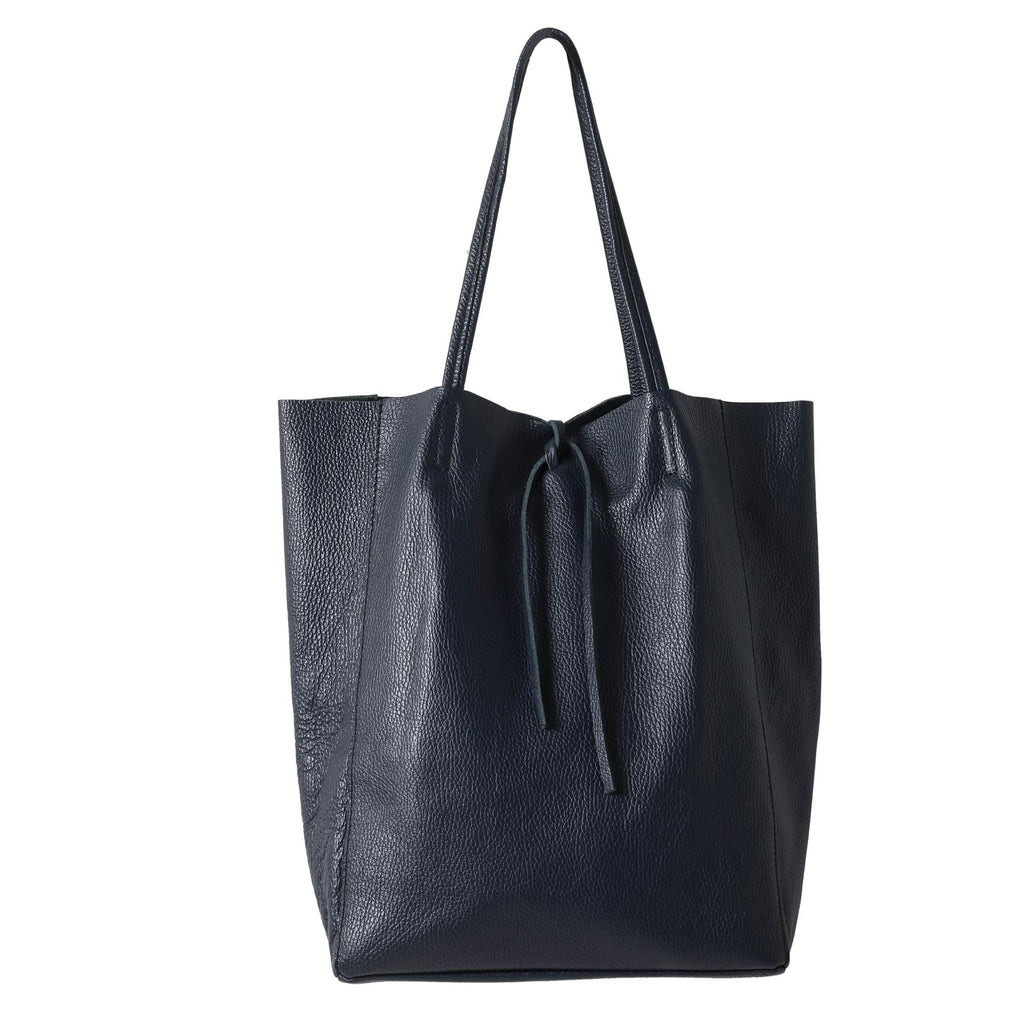 Florence Leather Tote Ink