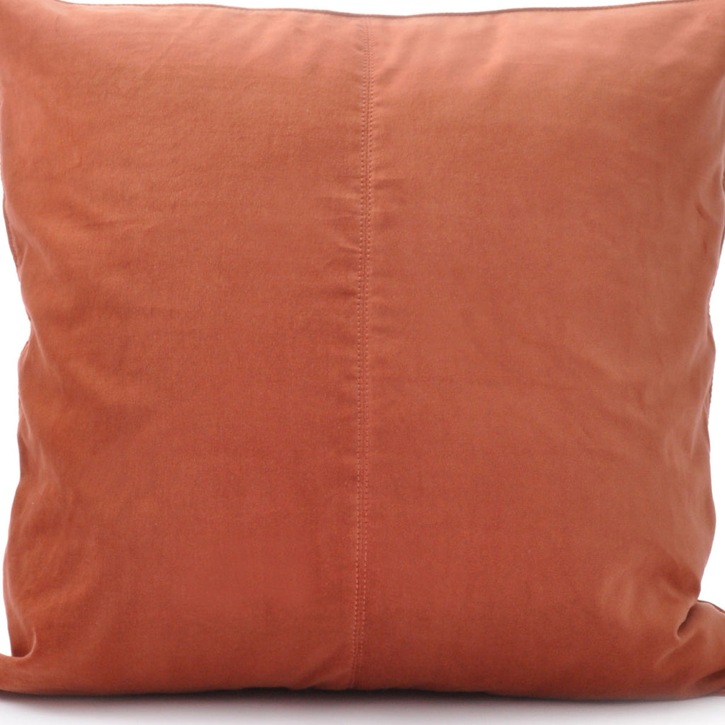 Ceannis Cushion Velvet Base Persimmon - Ceannis, INSIDE Hong Kong