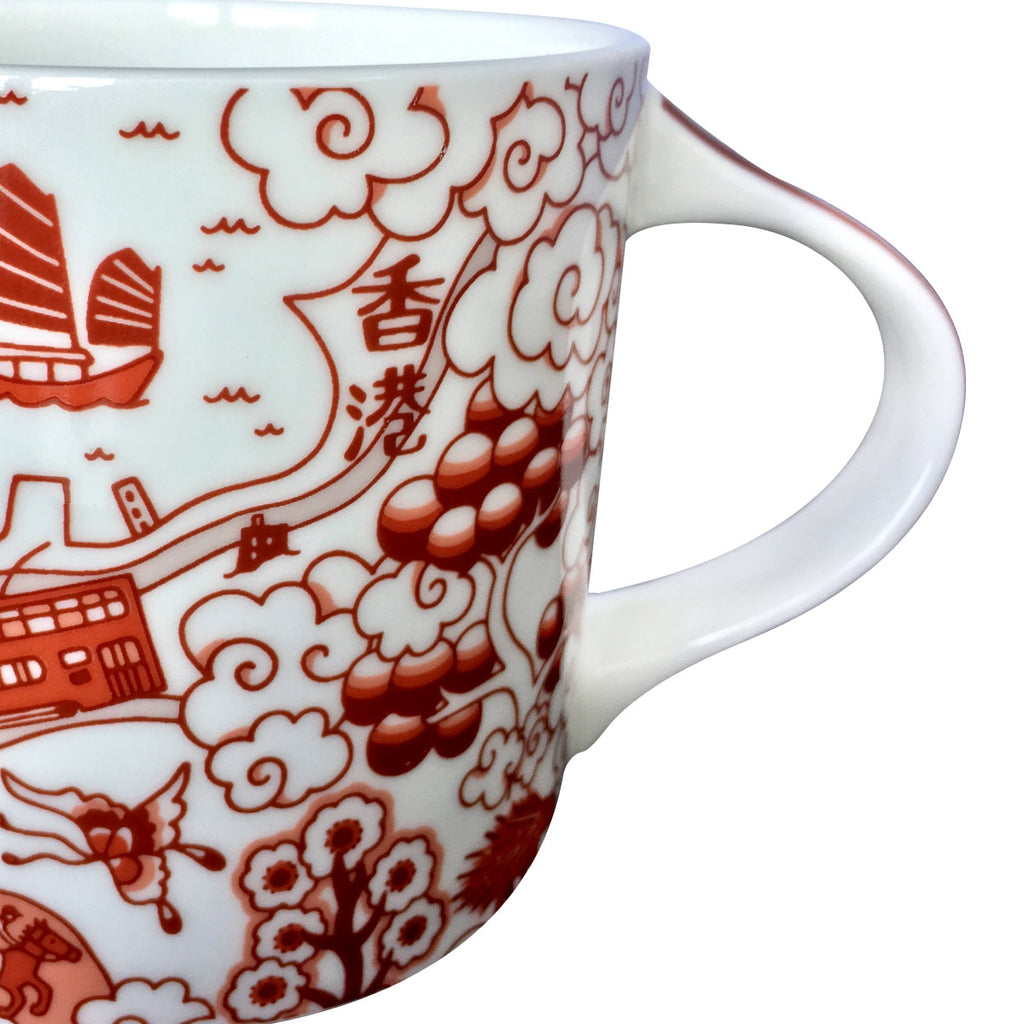 Willow Series HK Mug Red