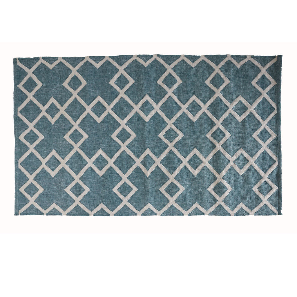 Weaver Green Rug Juno Teal