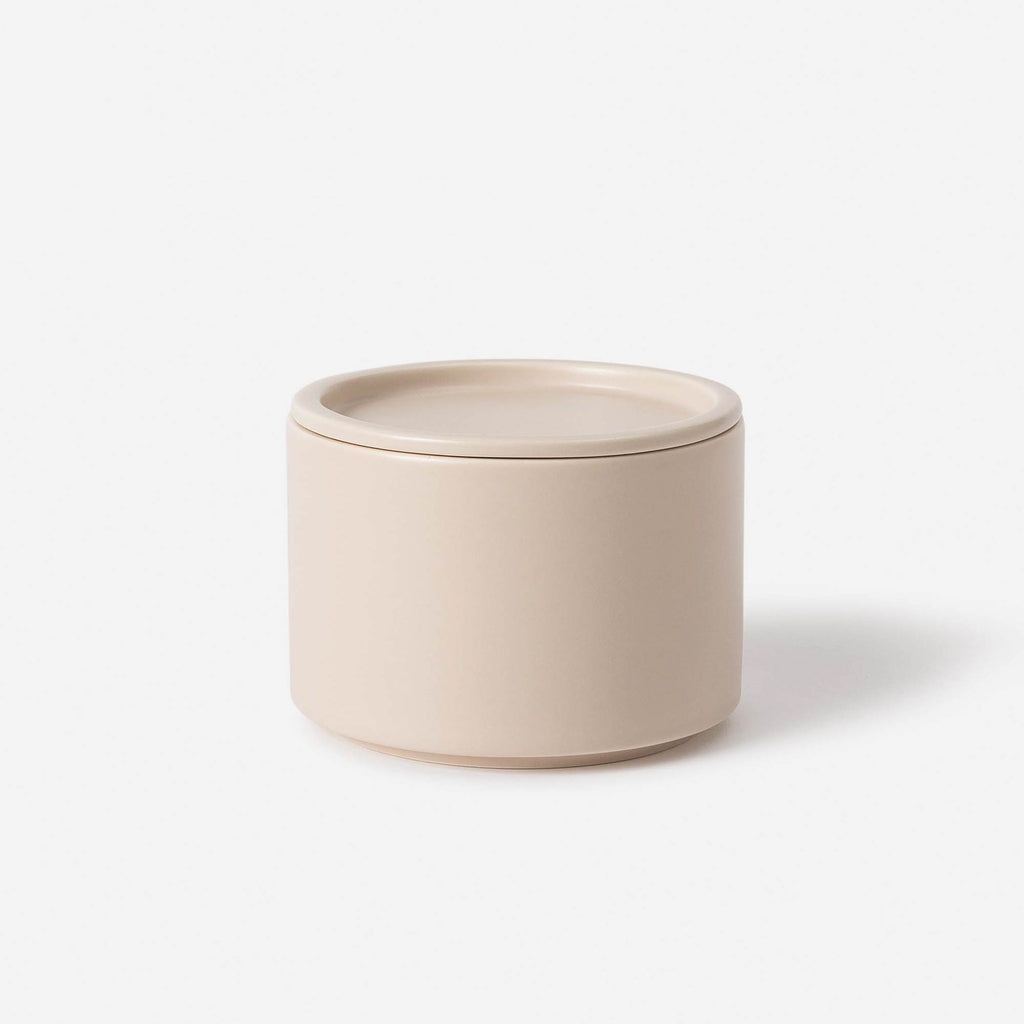 Bower Ceramic canister Oat Medium