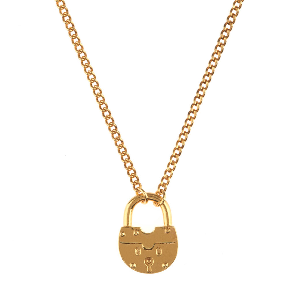 Luv & Bart Joey Necklace Gold - Luv & Bart, INSIDE Hong Kong
