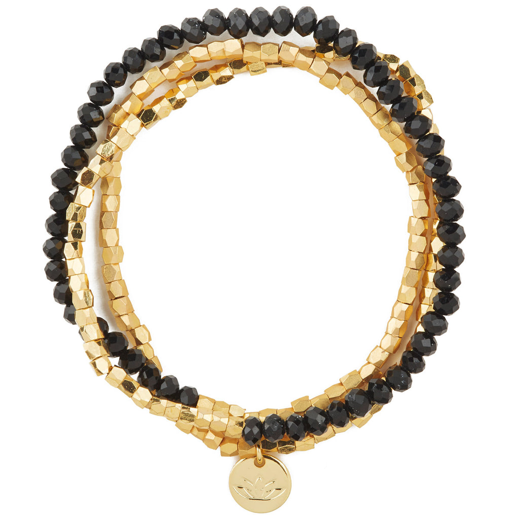 Luv & Bart Zoe Bracelet in Black - Luv & Bart, INSIDE Hong Kong