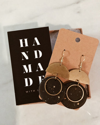 Indie Earrings in Black