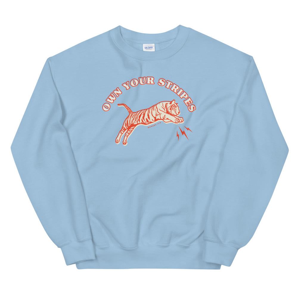 Tiger Sweatshirt in Blue