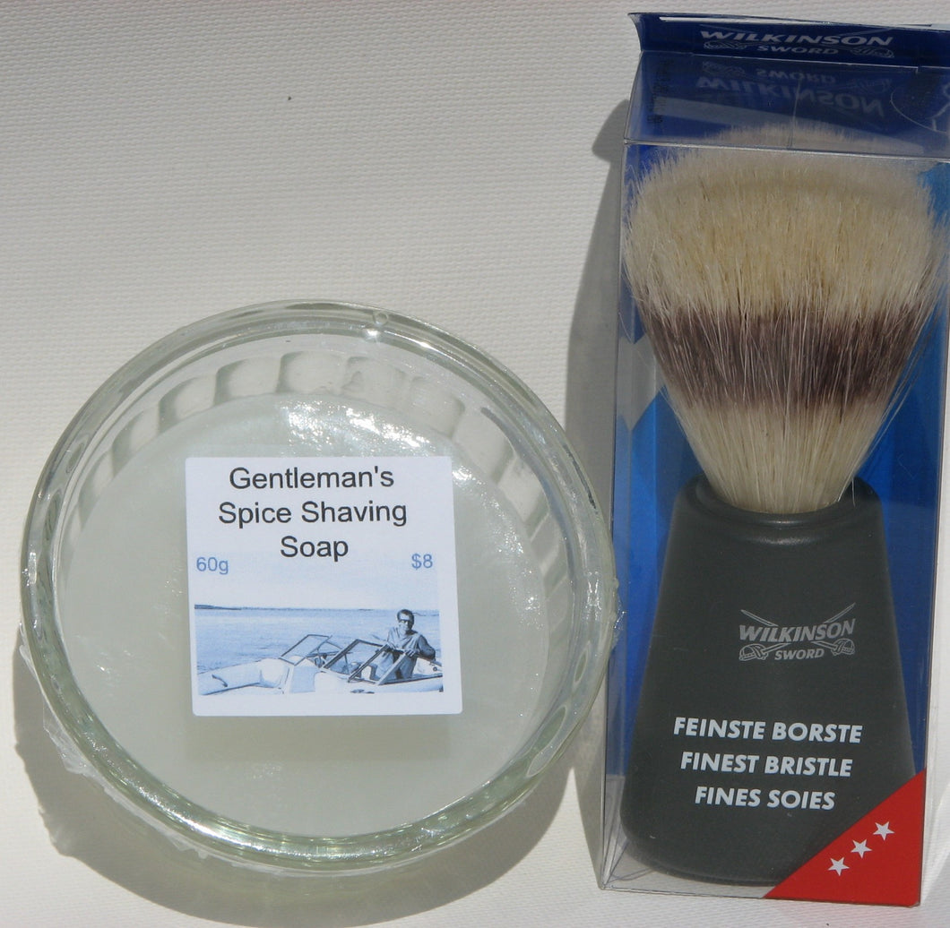 Gentleman's Spice Brush Set
