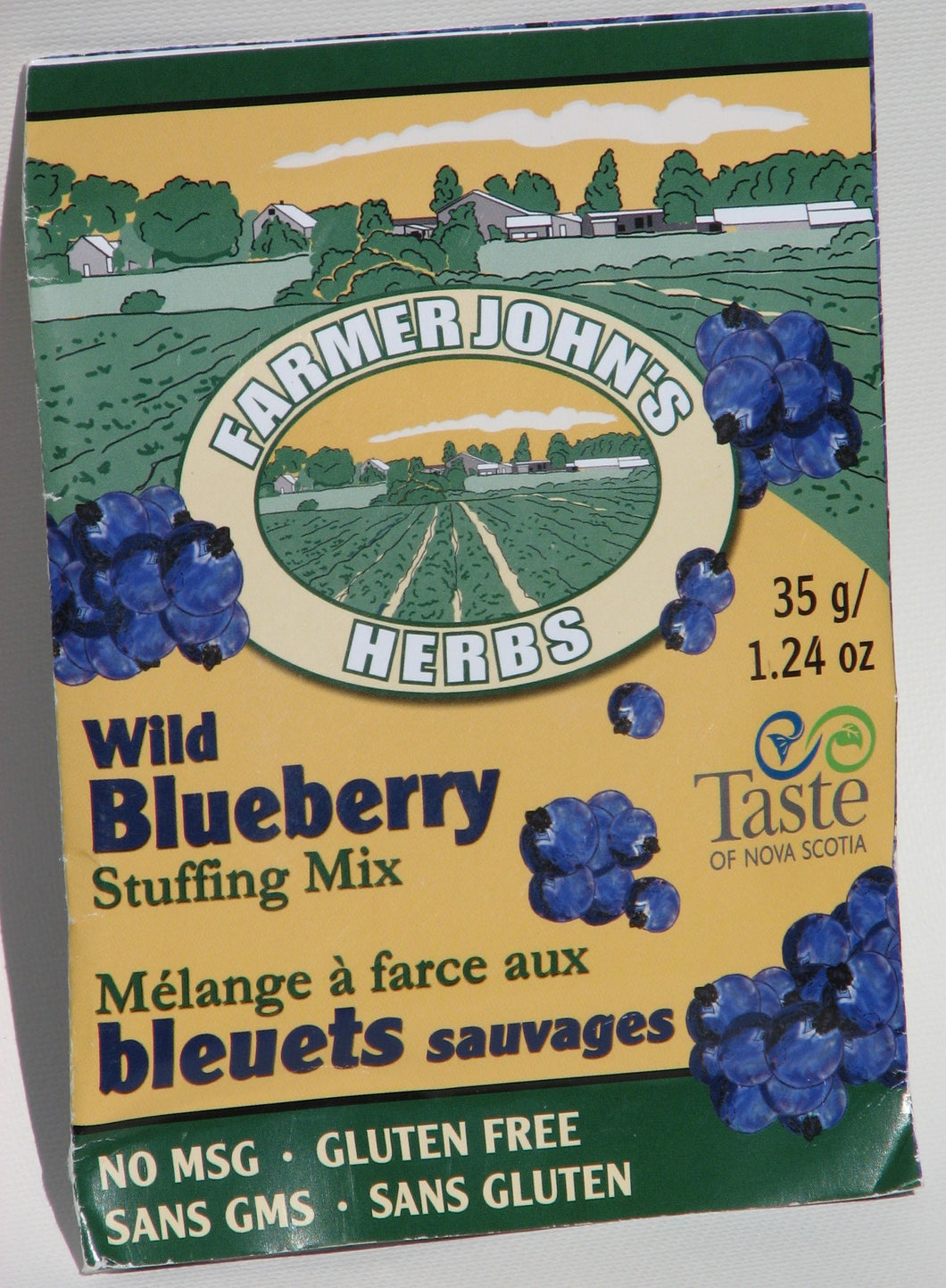 Stuffing Mix:  Wild Blueberry