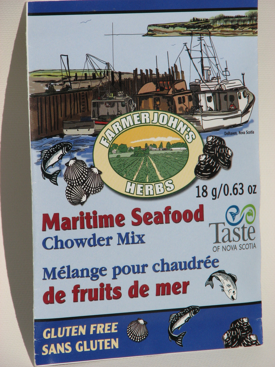 Chowder Mixes:  Maritime Seafood