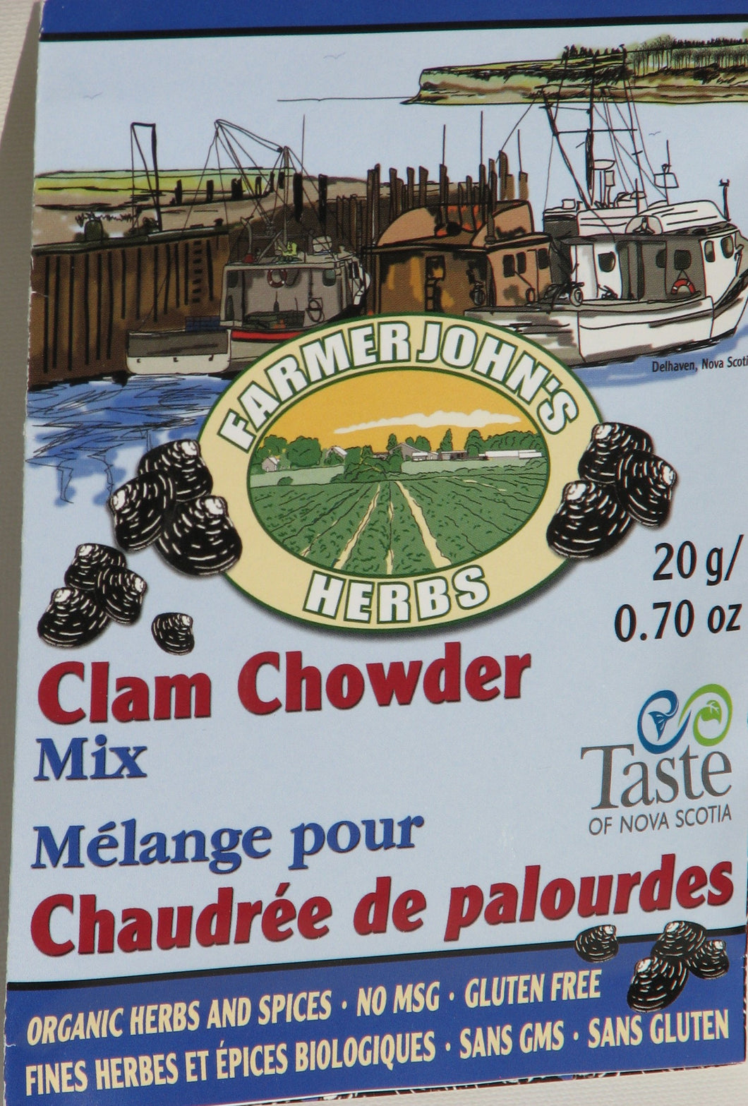 Chowder Mix: Clam