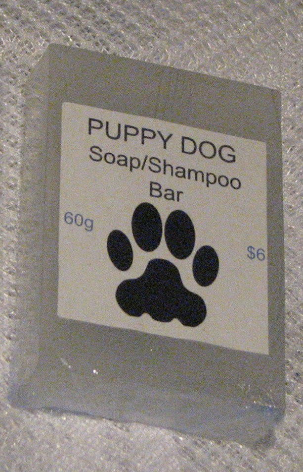 Puppy Dog Shampoo Bar