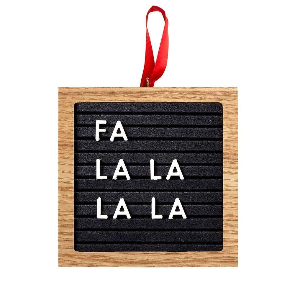 Holiday Letterboard Ornament