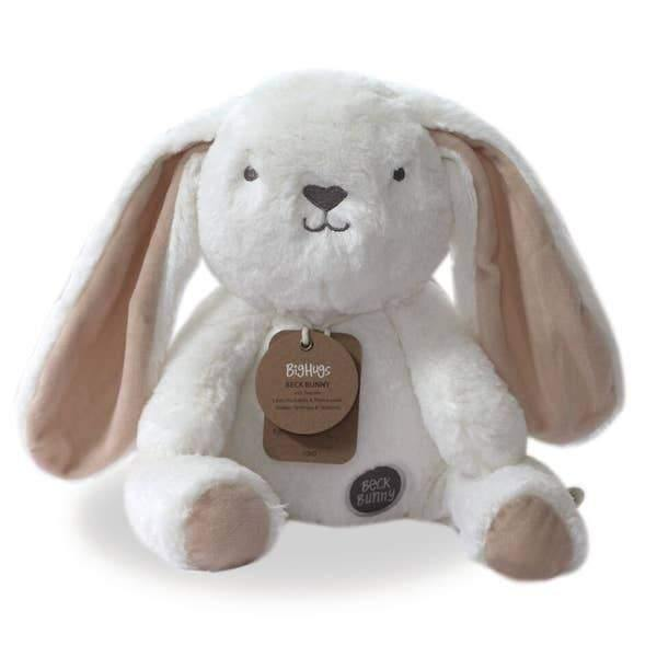 Plush Bunny Toy | White