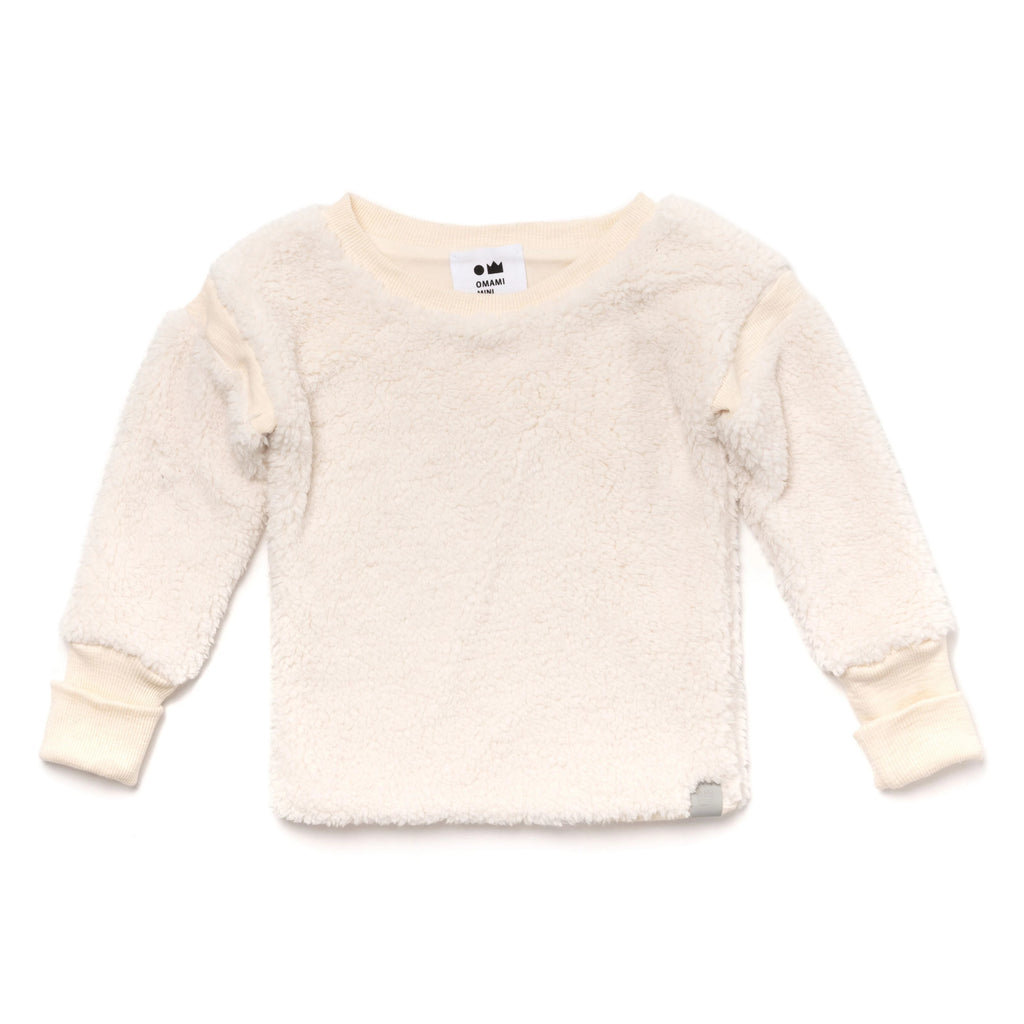 Kids Sherpa Sweatshirt | Off-White | OM394