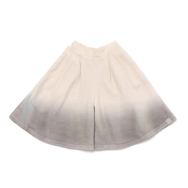 Girls Ombre Dye Terry Culottes | Cloud | OM400