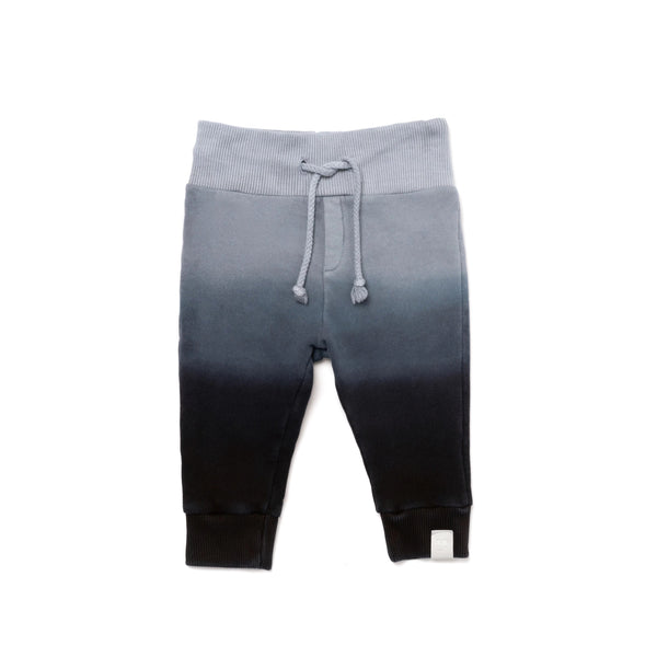 Baby Ombre Sweatpants | Black | OM408