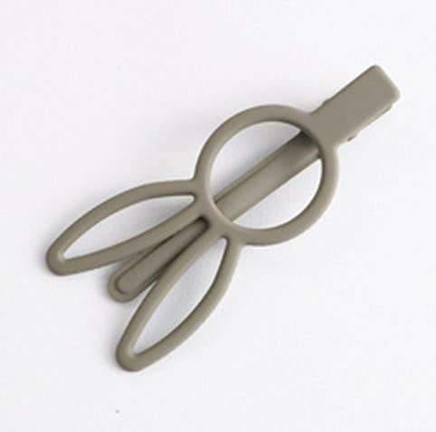 Bunny Rabbit Hair Clip - Gray