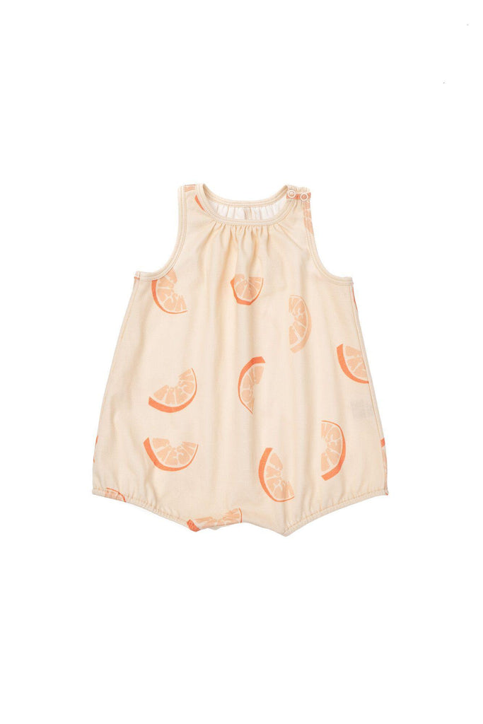 Baby Bubble Romper - Orange Fresh | OM435