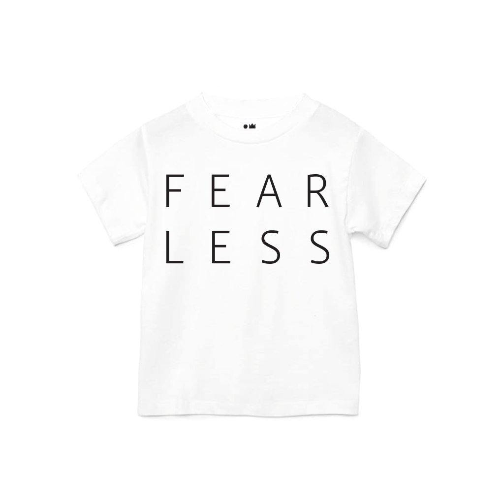 Baby Fearless T-shirt | White OM229B
