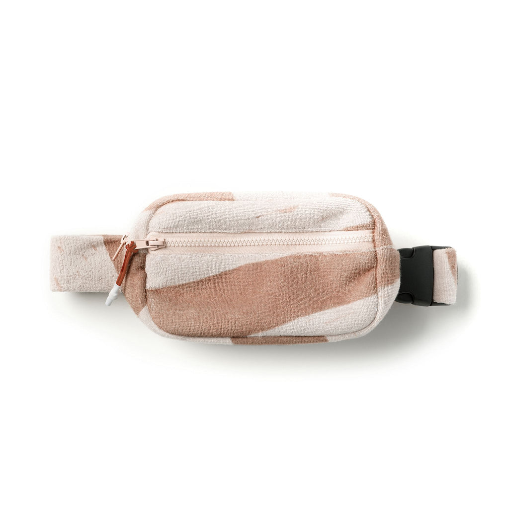 Kids Terry Fanny Pack | Mocha OM526