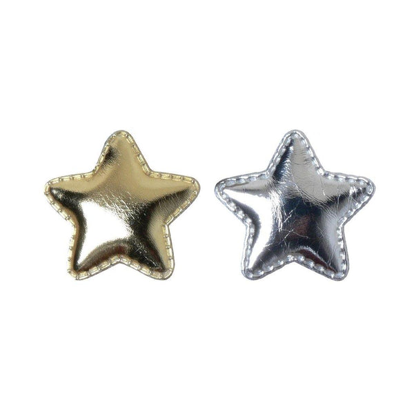 Metallic Star Popper Clip | Gold