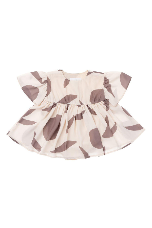 Baby Fit and Flare Dress - Cream | OM439