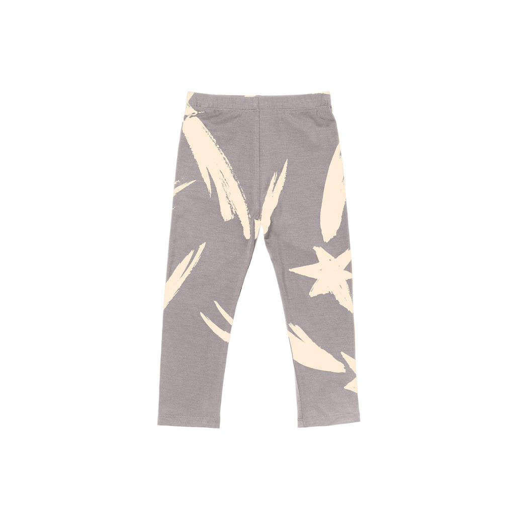 Kids Jersey Leggings | Gray OM458 - OMAMImini