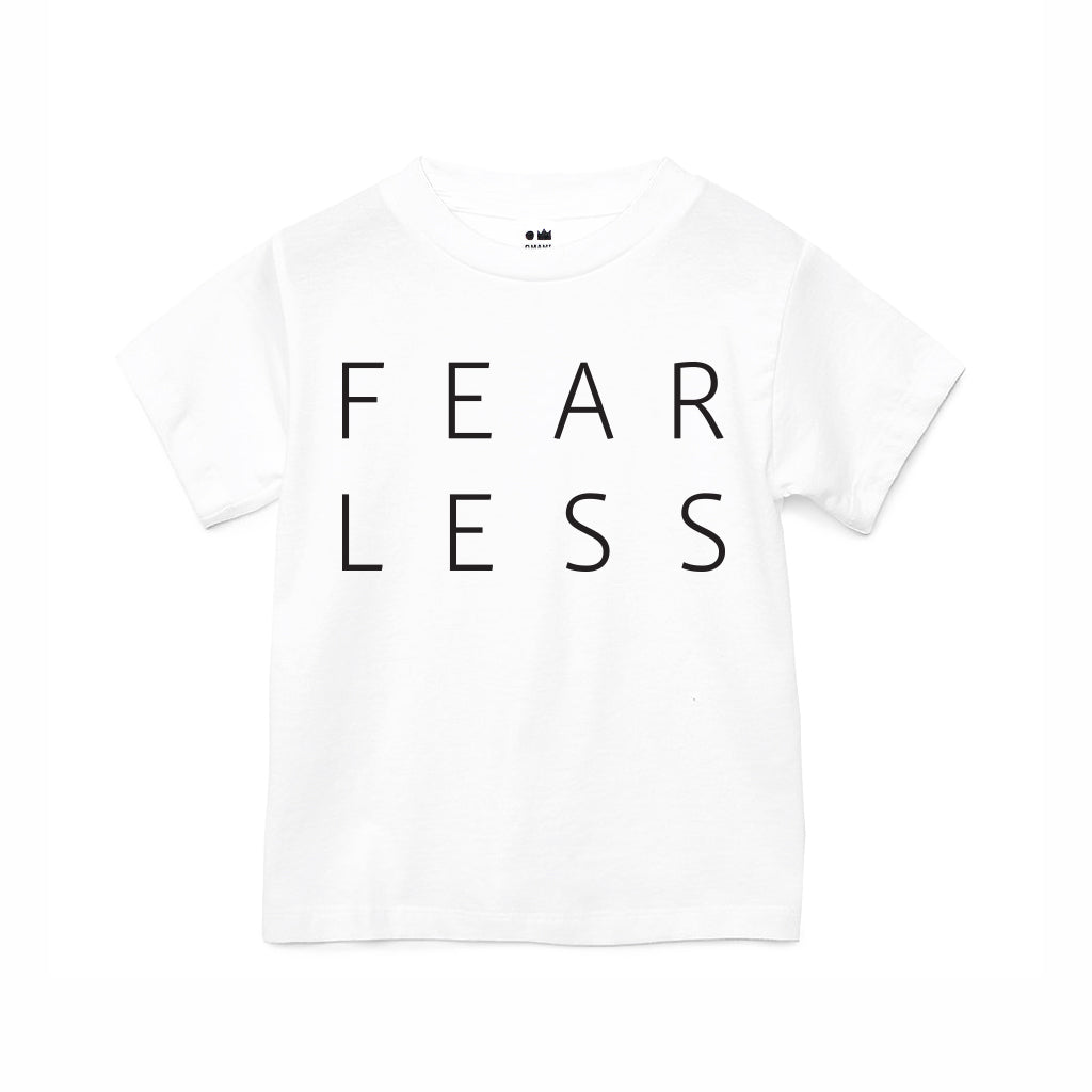 Kids Fearless T-shirt | White OM229G