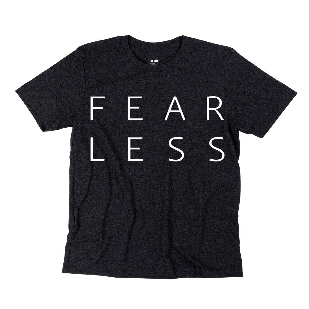 Fearless T-shirt | Women | Charcoal Black OM229W