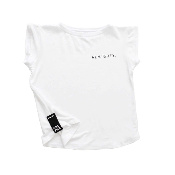 OMAMIMINI:Almighty T-shirt | Girls | White OM229G