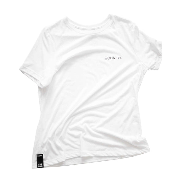 OMAMIMINI:Almighty T-shirt | Women | White OM229W