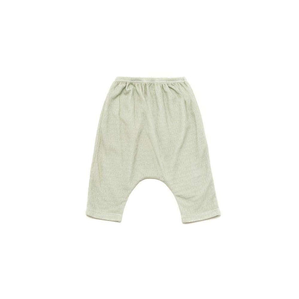 OMAMIMINI:Baby and Toddler Terry Harem Pants | Mint OM220b