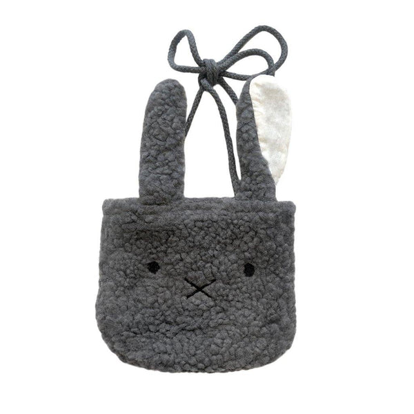 Bunny Crossbody Purse | Charcoal