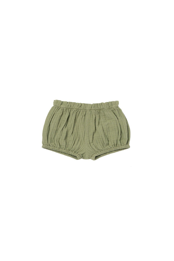 Baby Gauze Bloomers - Olive | OM440