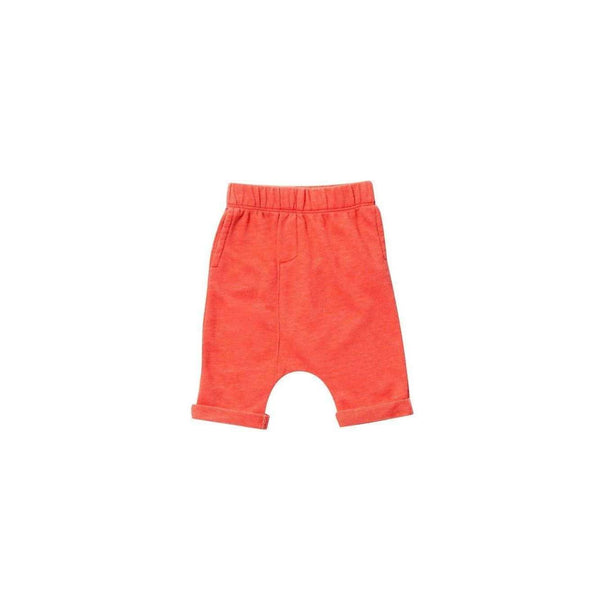 OMAMIMINI:Dropped crotch shorts | Coral OM158