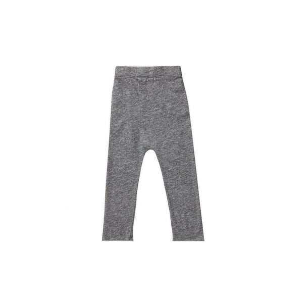 OMAMIMINI:Dropped Crotch Sweatpants | Heather Charcoal OM157a