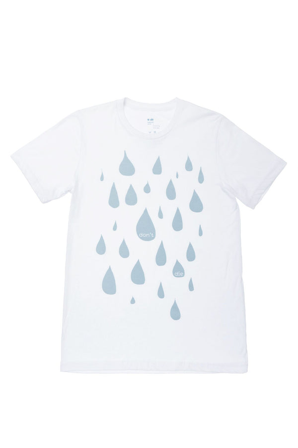 Don't Die T-shirt | Drops | White