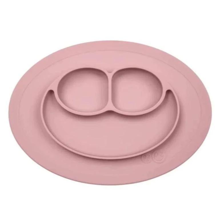 Mini Mat - Placemat and Plate with Suction | Blush